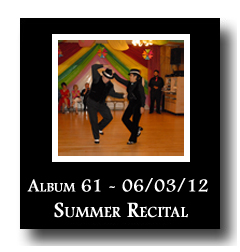Photo Album 61: Summer Recital, June 3, 2012